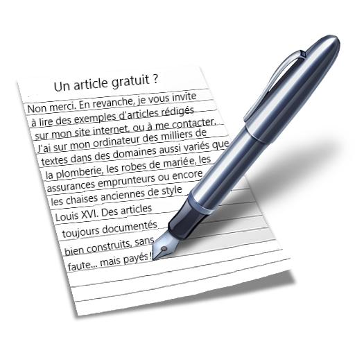 Est-ce que je vais rédiger votre article test gratuitement?